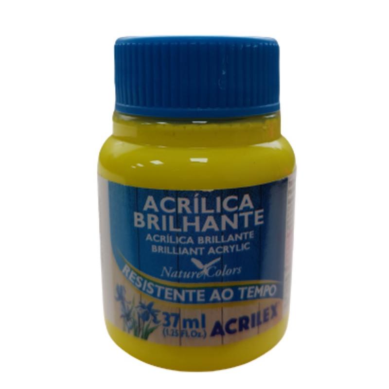 TINTA ACRILICA BRILHANTE AMARELO LIMAO 37ML