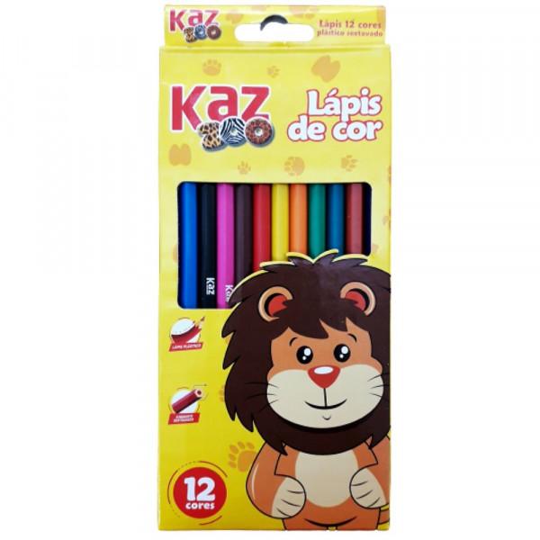 LAPIS DE COR C/12 KAZZOO KZ2602