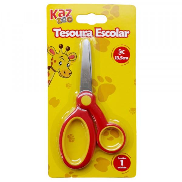 TESOURA ESCOLAR 13CM KZ11432
