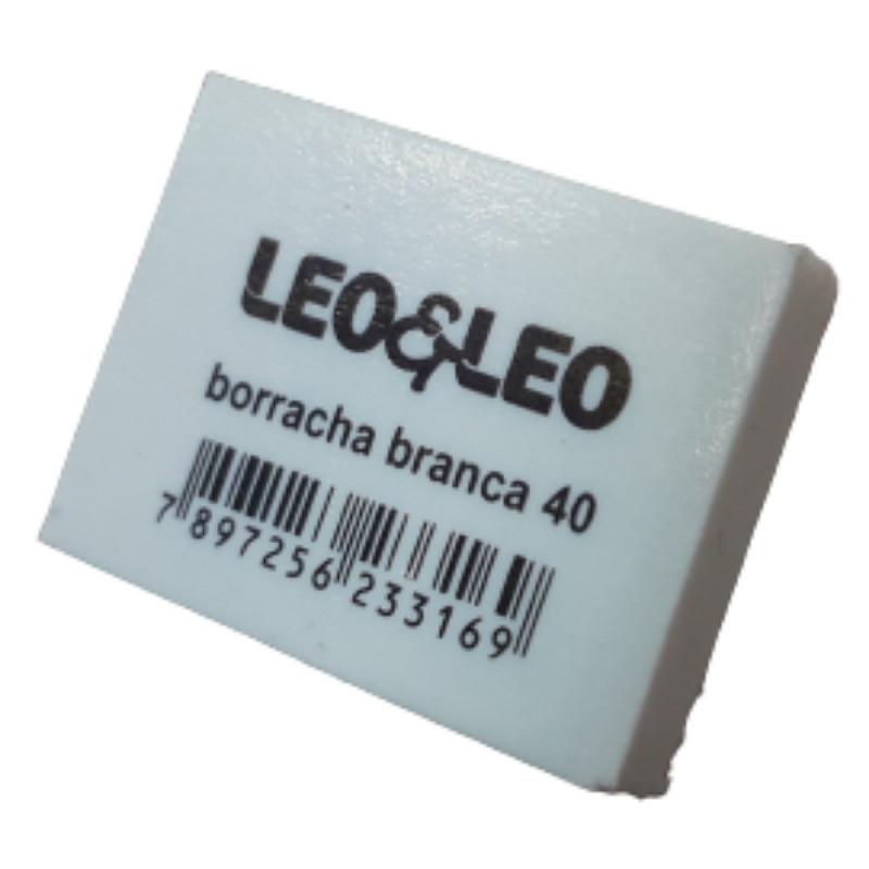 BORRACHA BRANCA 40 LEO LEO
