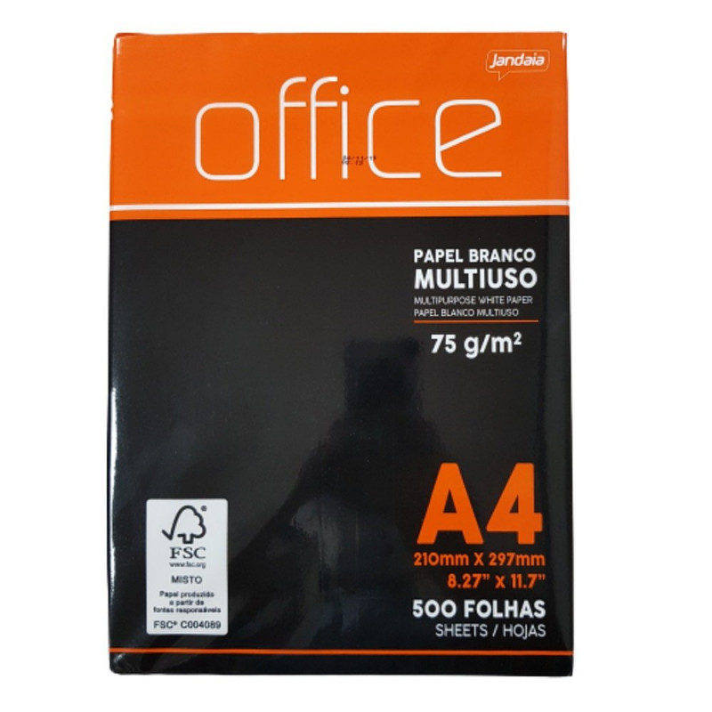 PAPEL OFICIO OFFICE A4 500 FLS