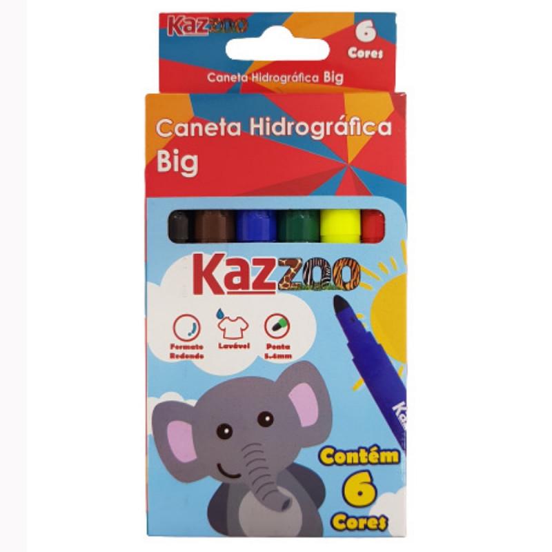 CANETA HIDROGRAFICA BIG KZ17046-6