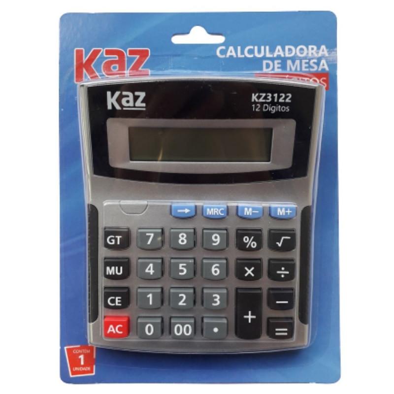 CALCULADORA DE MESA 12 DIGITOS KZ3122