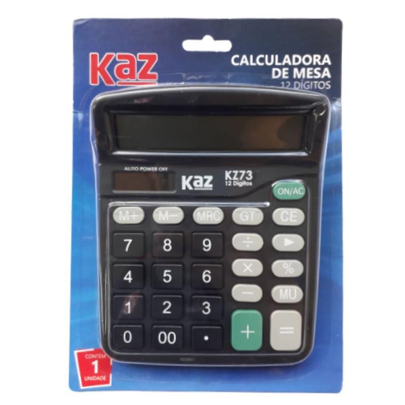 CALCULADORA DE MESA 12 DIGITOS KZ73