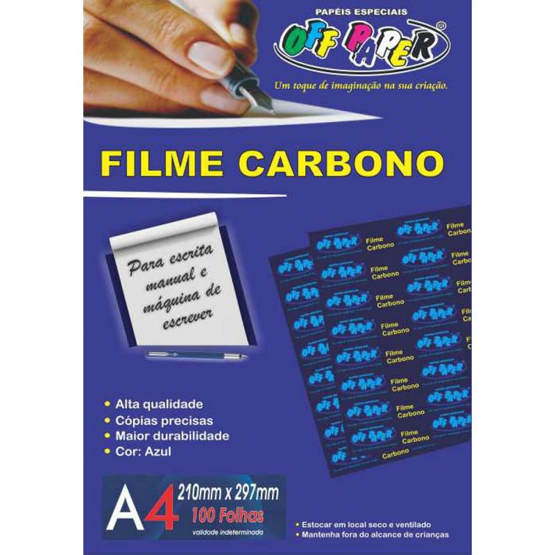 FILME CARBONO A4