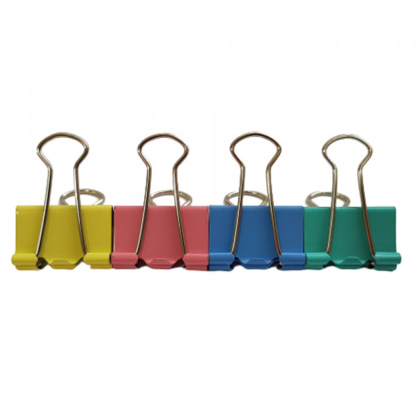 BINDER CLIPS COLORIDO 25MM REF:8554A