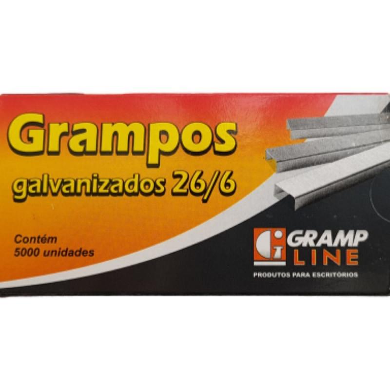 GRAMPO 26/6 GRAMP LINE GALVANIZADO