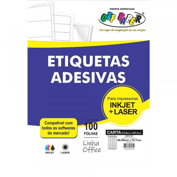 ETIQUETA ADESIVA OFFC187 80 ETIQUTA OFF PAPER