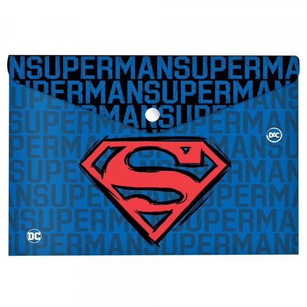 MALOTE C/ BOTAO A4 SUPERMAN DAC