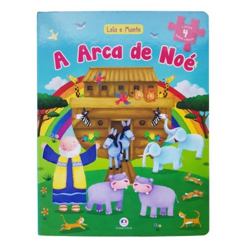 A ARCA DE NOÉ LIVRO QUEBRA CABEÇA