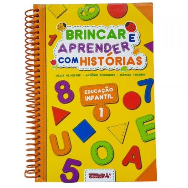 BRINCAR E APRENDER COM HISTORIAS EDC. INFANTIL 1