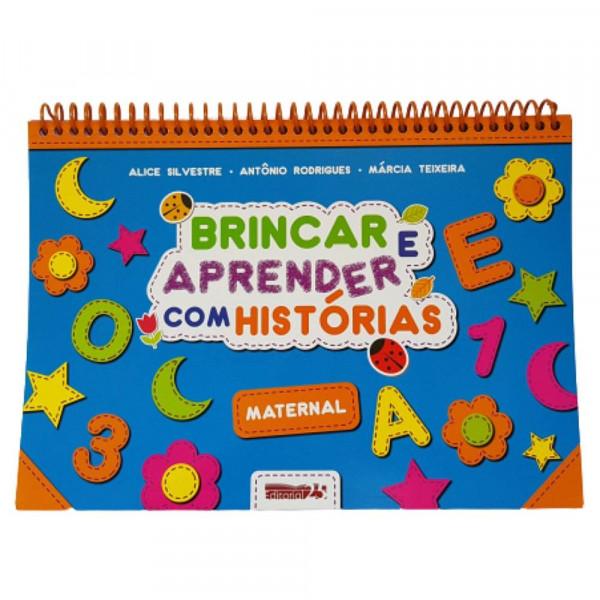 BRINCAR E APRENDER COM HISTORIAS MATERNAL