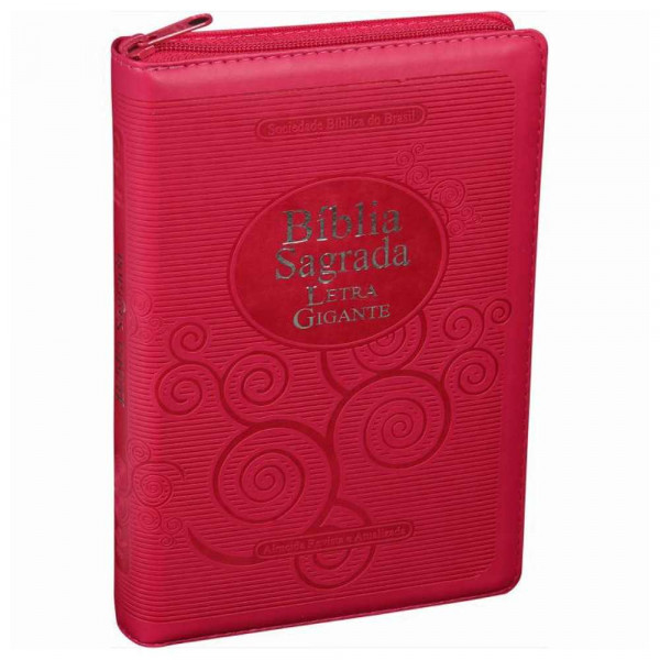 BIBLIA SAGRADA LETRA GIGANTE - PINK