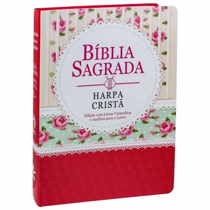 BIBLIA SAGRADA HARPA CRISTA LETRA G - FLORIDA/RENDA