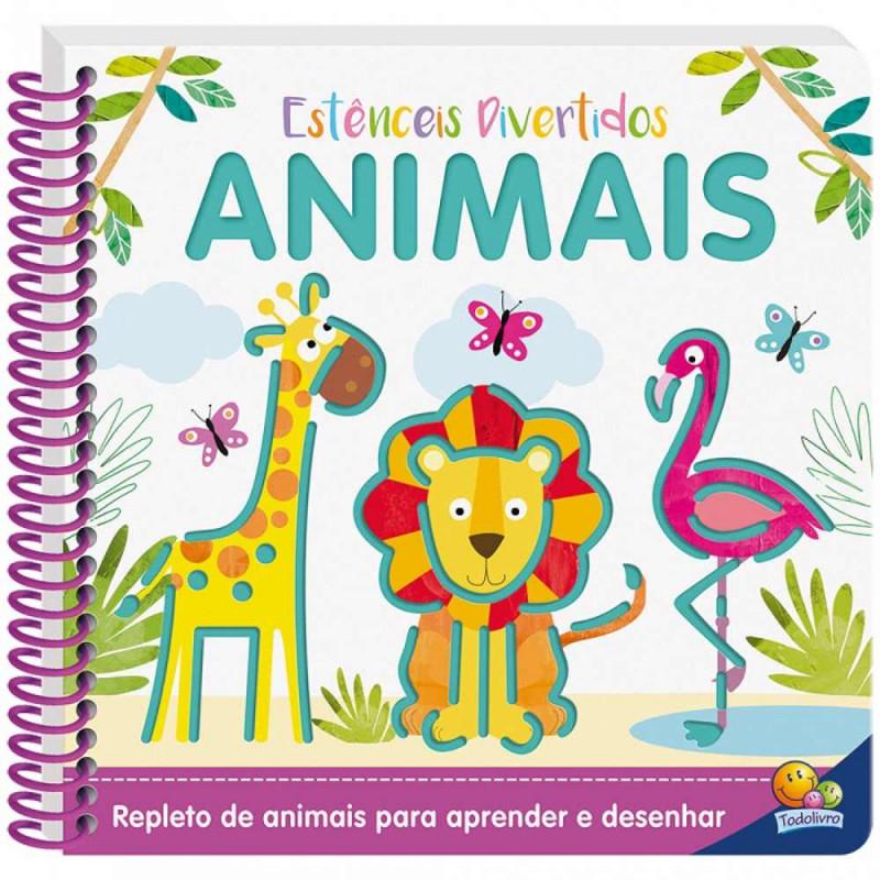 ESTENCEIS DIVERTIDOS: ANIMAIS