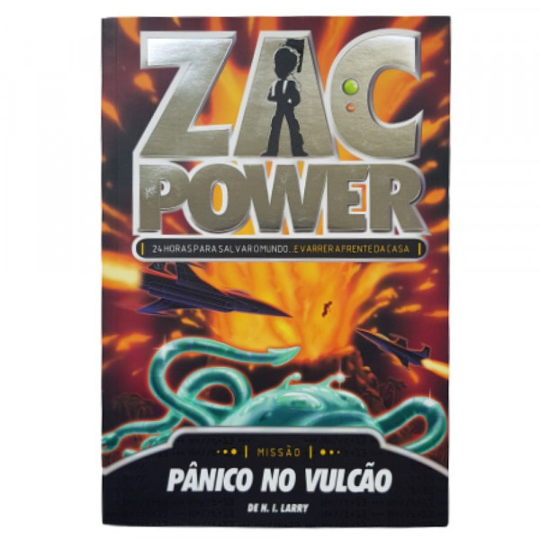 ZAC POWER 14 - PANICO NO VULCÃO