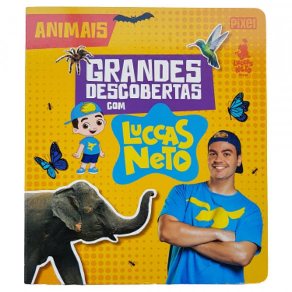 GRANDES DESCOBERTAS COM LUCCAS NETO - ANIMAIS