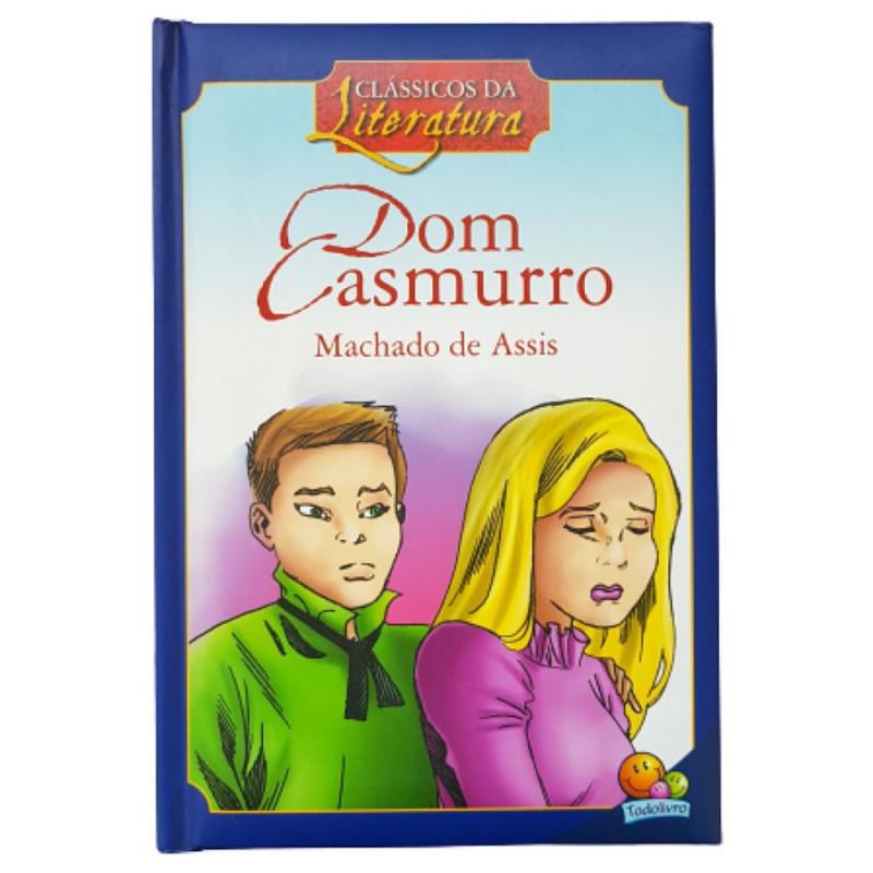 DOM CASMURRO CLÁSSICOS DA LITERATURA MACHADO DE ASSIS