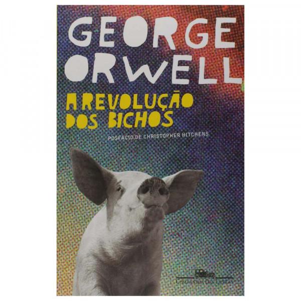 REVOLUÇÃO DOS BICHOS GEORGE ORWELL - ROMANCE SATÍRICO