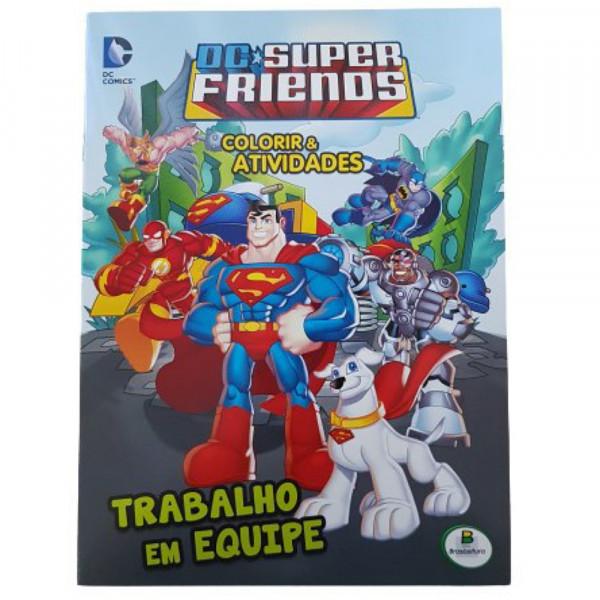 COLORIR E ATIVIDADES (GD) - DC SUPER FRIENDS: TRAB
