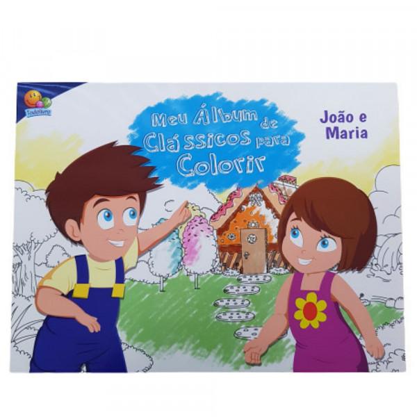MEU ALBUM DE CLASSICOS P/COLORIR: JOAO E MARIA
