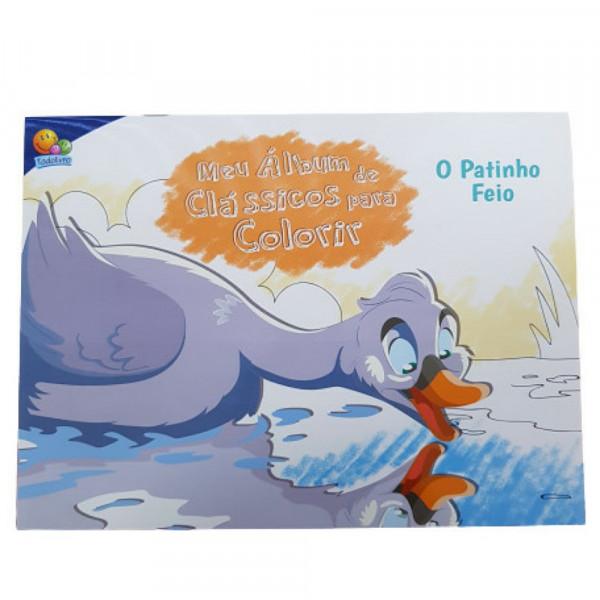 MEU ALBUM DE CLASSICOS P/COLORIR: PATINHO FEIO, O