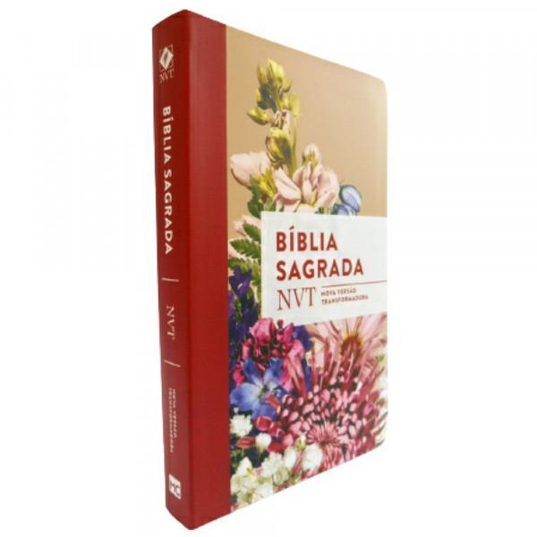 BÍBLIA SAGRADA NVT BUQUE LETRA NORAML
