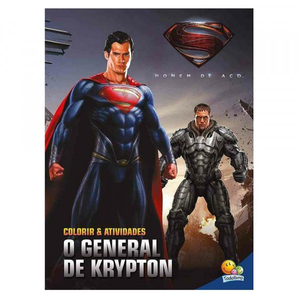 COLORIR E ATIVIDADES (GD) - HOMEM DE ACO: GENERAL