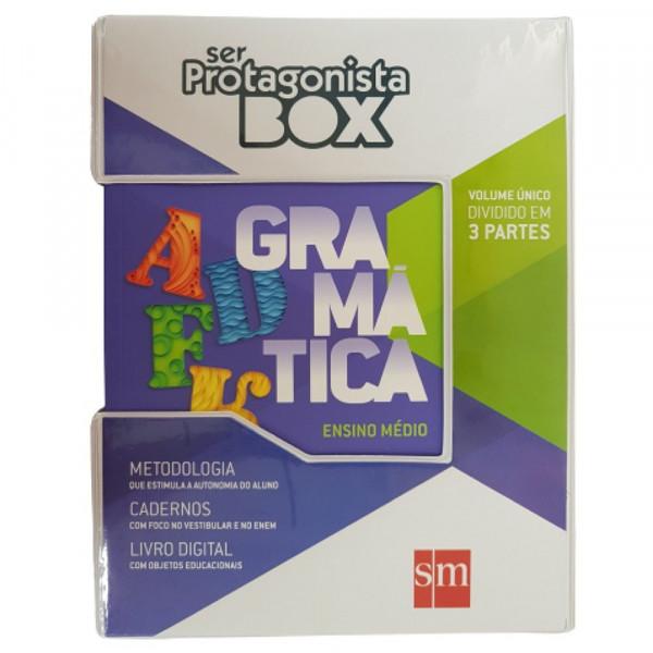 SER PROTAGONISTA GRAMATICA BOX