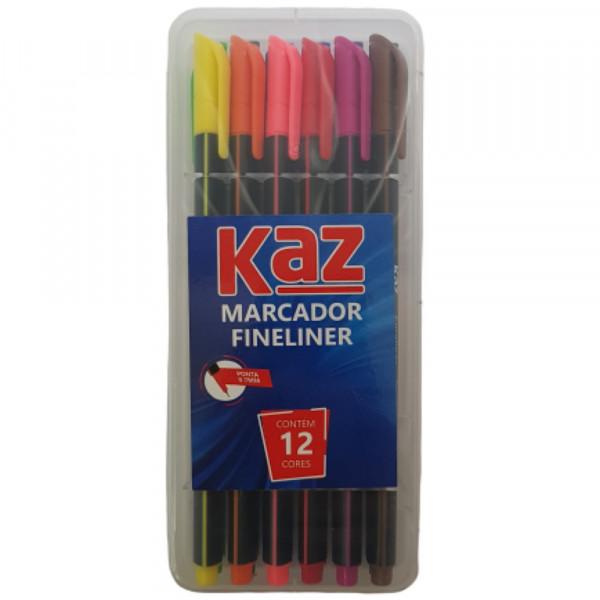 MARCADOR FINELINER 12 CORES KZ710