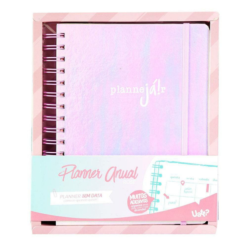 PLANNER ANUAL ROSE