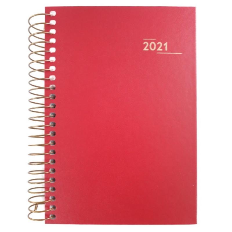 AGENDA NAPOLI ROSA ESPIRAL  2021