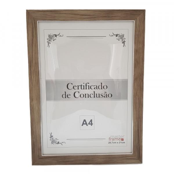 QUADRO MOLDURA P/ CERTIFICADO 21X29,7 REF:RMI4499