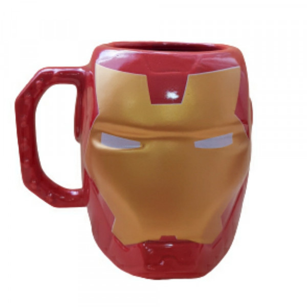 CANECA 400ML 3D IRON MAN REF:10023531