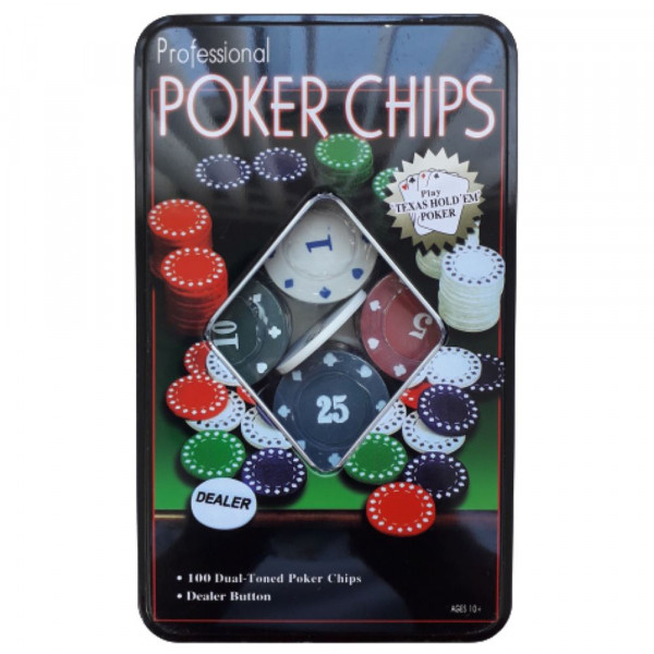POKER CHIPS PROFISSIONAL