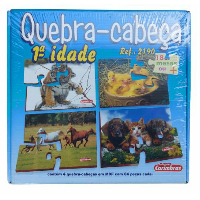 QUEBRA CABECA 1ª IDADE